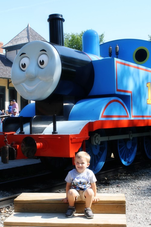 Picture with Thomas