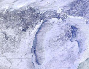 Snowy Michigan
